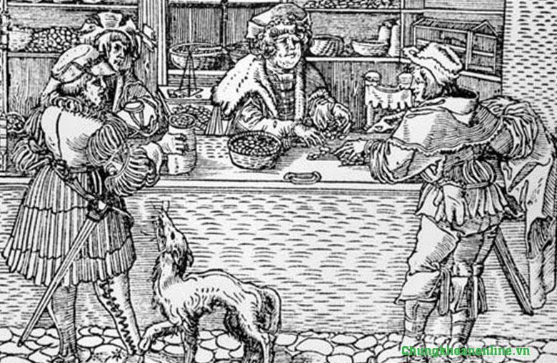 Hình ảnh: Quầy giao dịch ''Banca''