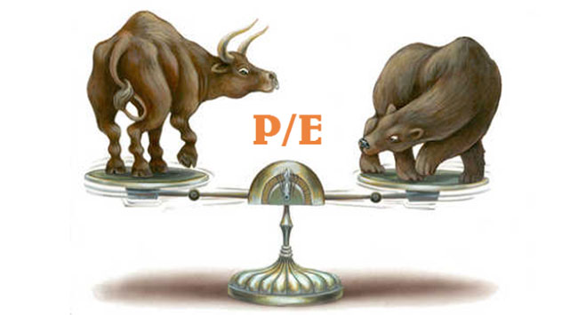Chỉ số P/E Frontier Markets (cận biên)