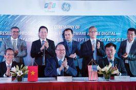 FPT Softwareký thỏa thuận hợp tác với GE Digital. Nguồn: FPT